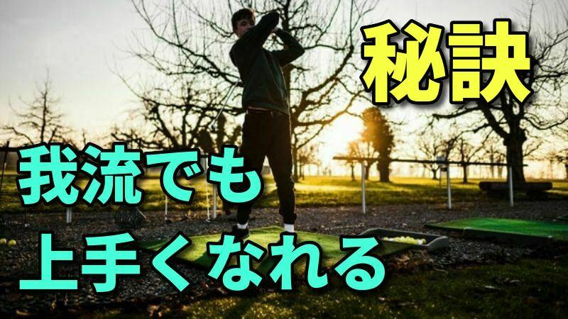 ゴルフは我流で上手くなれる【勉強家であればシングルやプロになれる】
